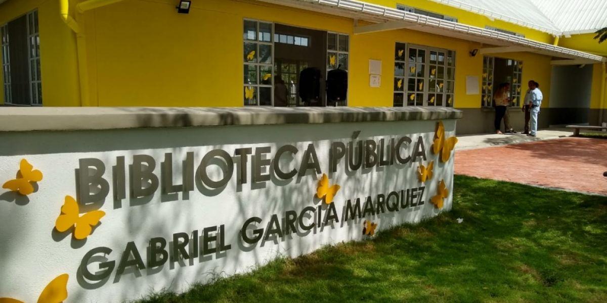 La biblioteca Gabriel García Márquez fue una de las escogidas.