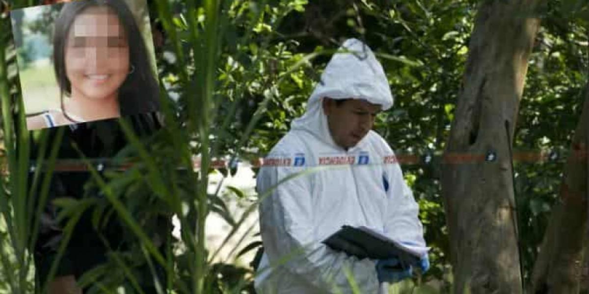 El cuerpo de la menor fue encontrado en una zona desolada.