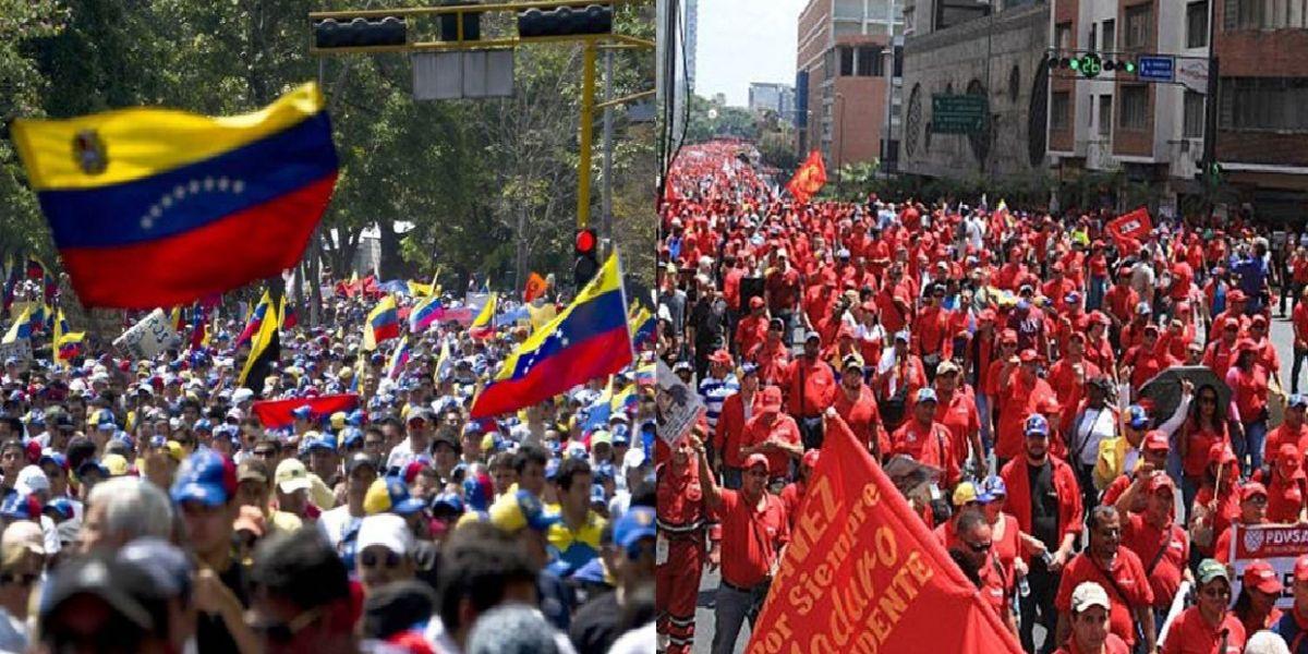 Tensión en el vecino país por la salida a las calles de ambos bandos.