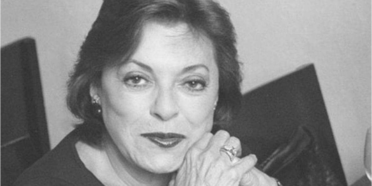 Falleció Gloria Zea, gestora cultural