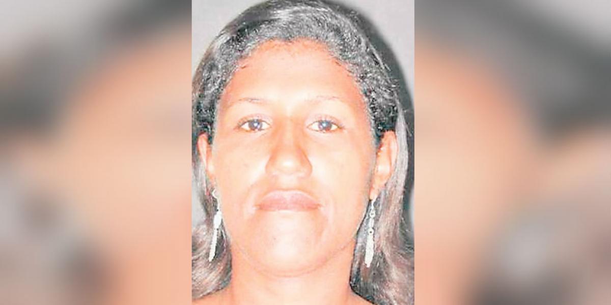 Yulis Mendoza, alias 'La Negra'.