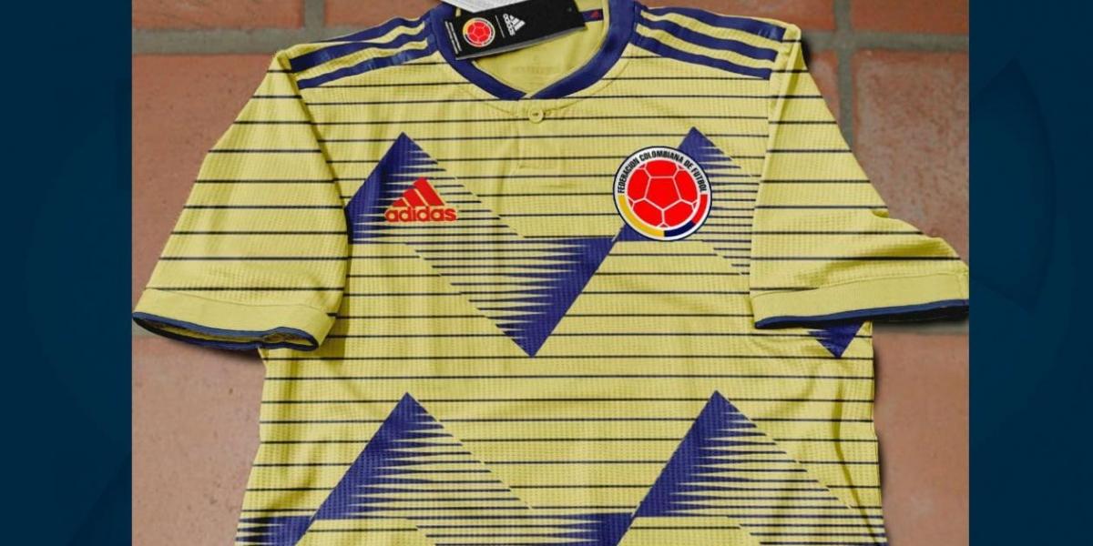 Posible camiseta de la Selección Colombia.