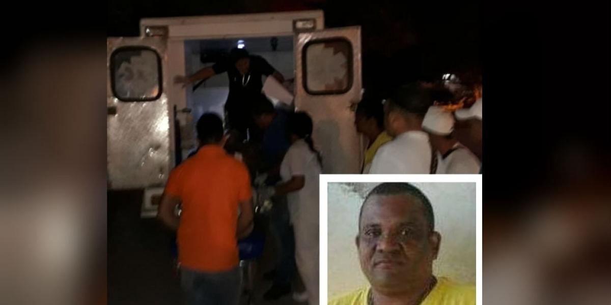 El mototaxista fue baleado el pasado 11 de febrero.