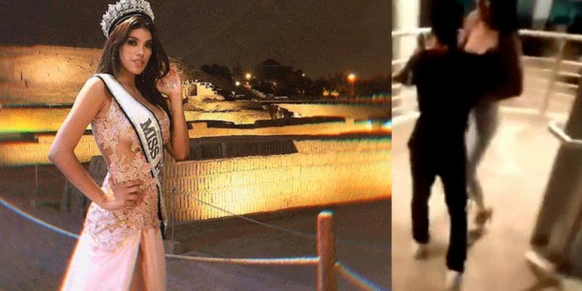 Anyella Grados y captura del video viral