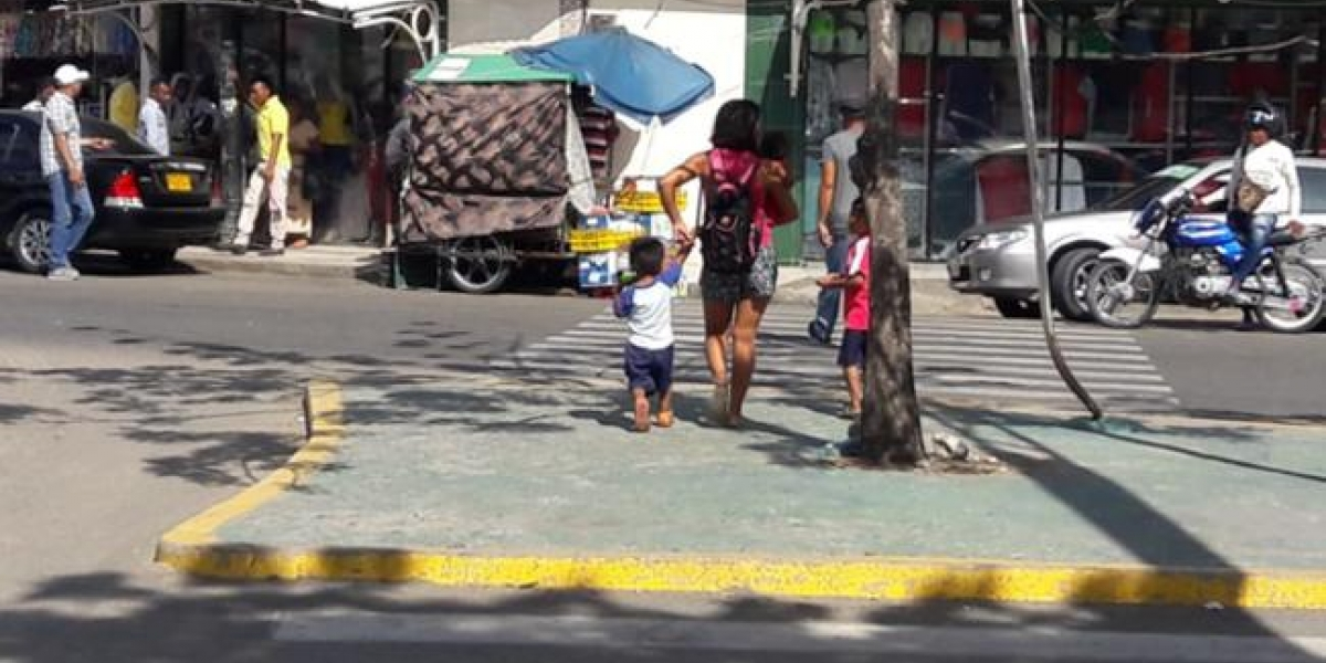 En operativos, fueron rescatados 15 niños venezolanos explotados y 14 venezolanos indocumentados, en Buacaramanga