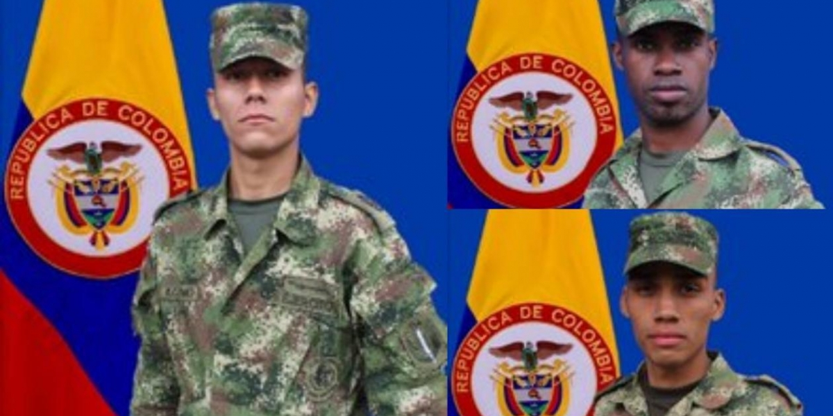 Tres soldados murieron tras activación de campo minado en Tumaco, Nariño