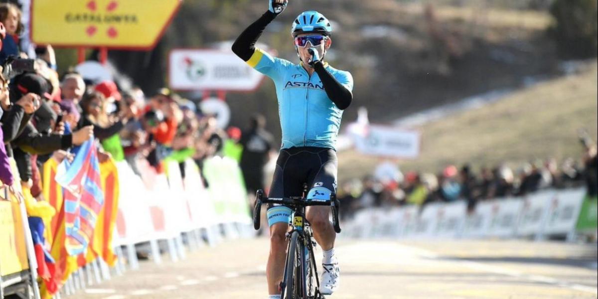 'Supermán' López gana la cuarta etapa y es líder en Cataluña