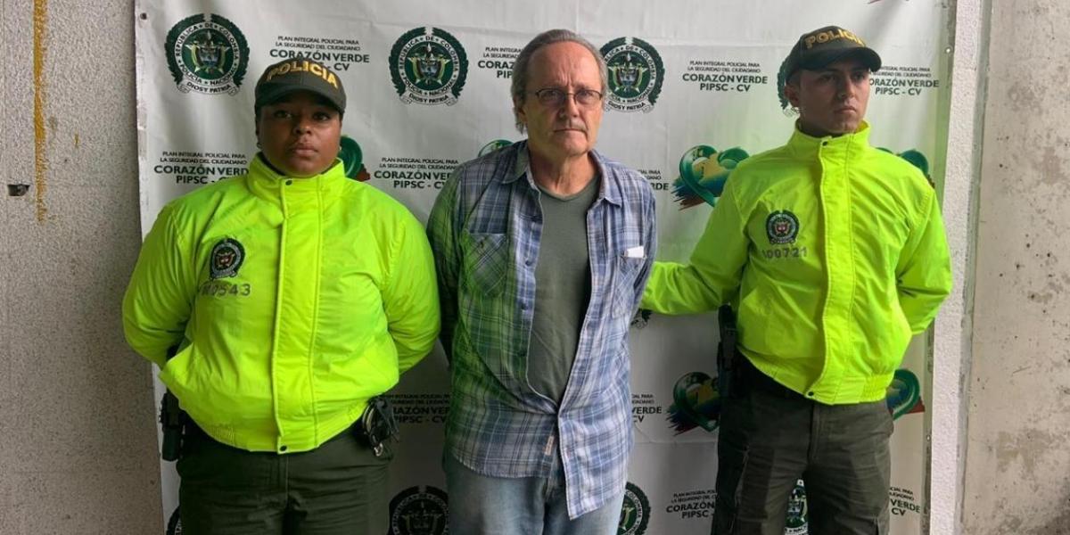 Capturado estadounidense sindicado de explotar sexualmente a menores en Medellín