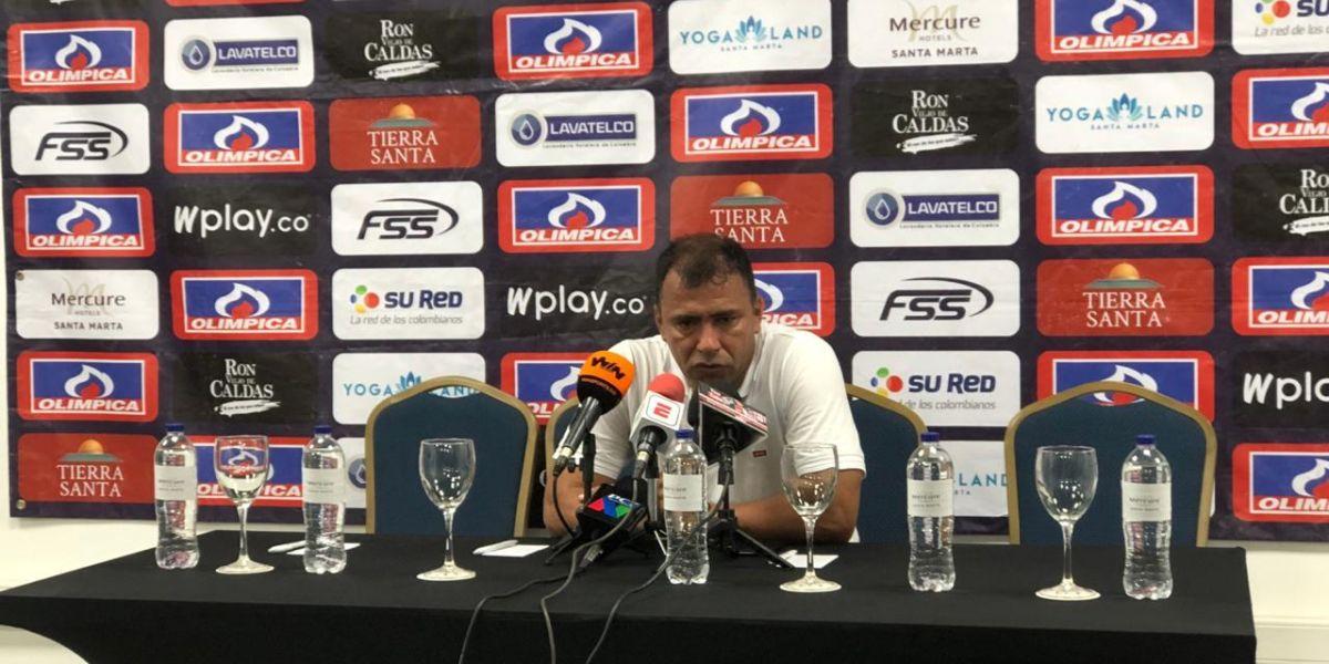 Rivera habló del desarrollo de su equipo ante Alianza e hizo hincapié en el partido de Márquez.