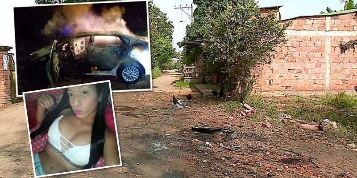 Encuentran a joven que estaba desaparecida, calcinada dentro de un carro