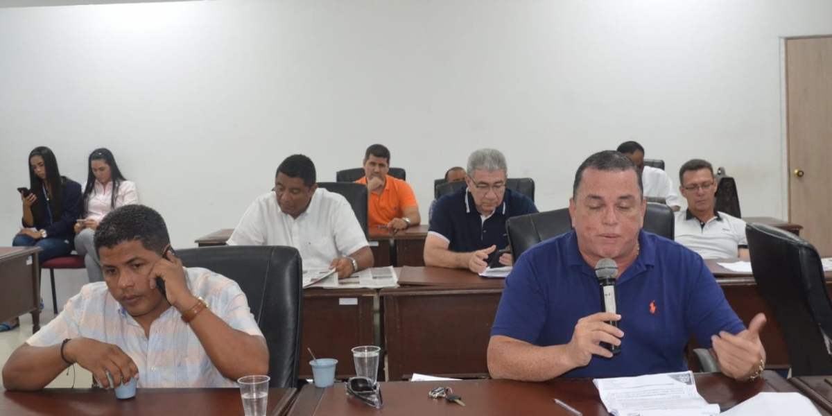 Concejal Jaime Linero.