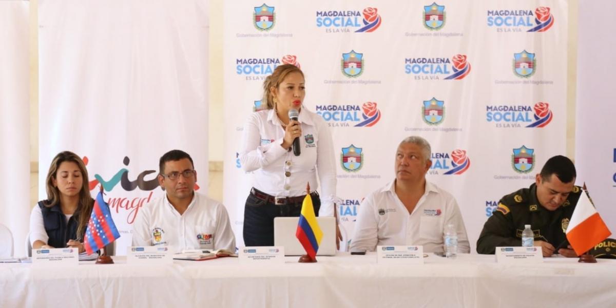 Durante el encuentro que fue presidido por Norma Vera Salazar, secretaria del Interior, con funciones delegatarias de Gobernadora, fueron expuestas diferentes situaciones que deben ser atendidas por esta instancia.