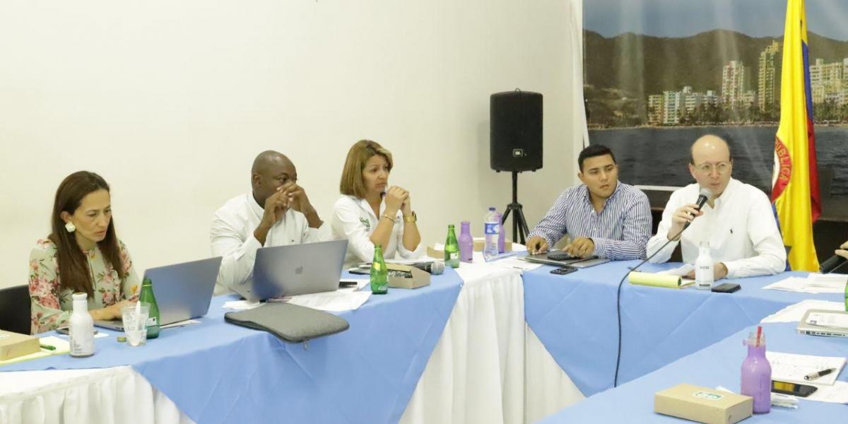 La junta directiva de la Essmar se lleva a cabo en la Alcaldía de Santa Marta.