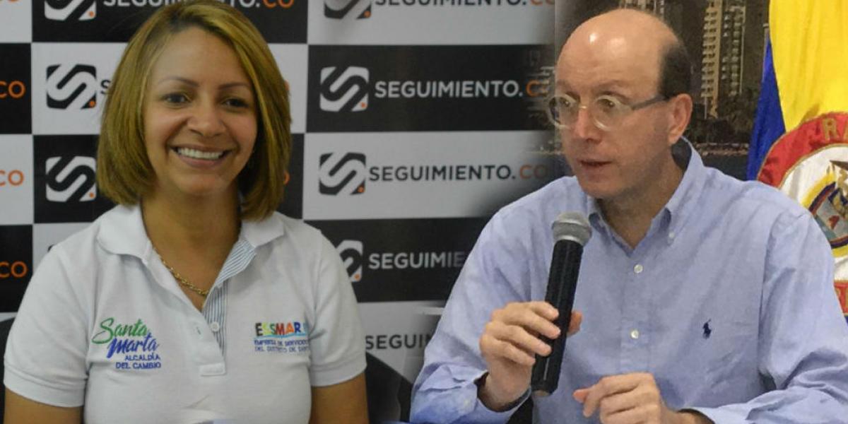 Ingrid Aguirre respondió con un comunicado a las declaraciones de Andrés Rugeles.