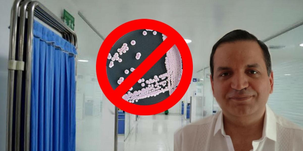 Desmienten presencia en Colombia de agresivo hongo hospitalario