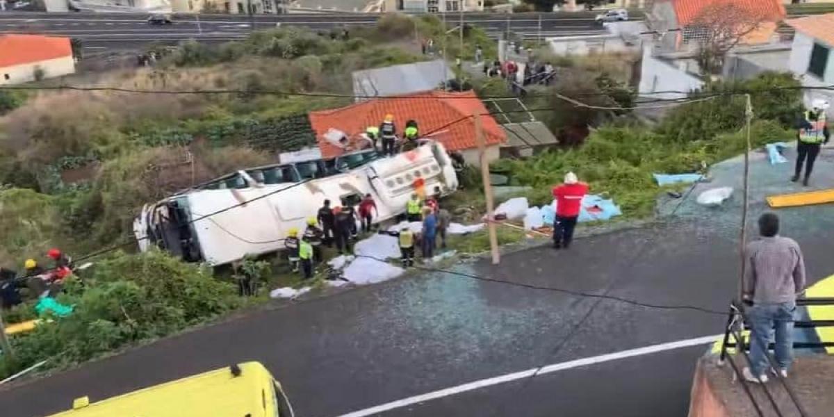 Trágico accidente en Portugal
