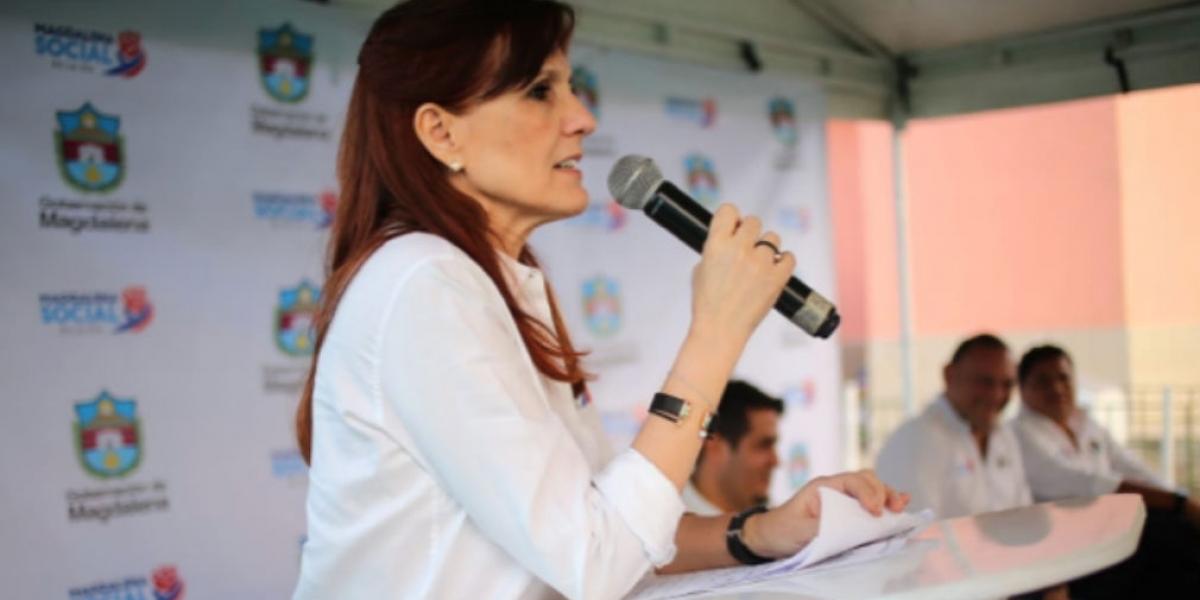 La gobernadora Rosa Cotes brindó atención inmediata en caso de menor fallecida de Ciénaga.