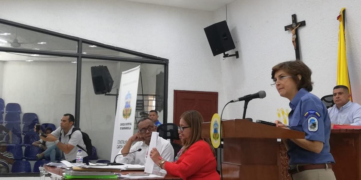 Julia Miranda, directora de Parques Nacionales
