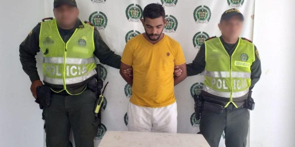 Patiño Alonso fue dejado a disposición de la Fiscalía Seccional de Fundación.
