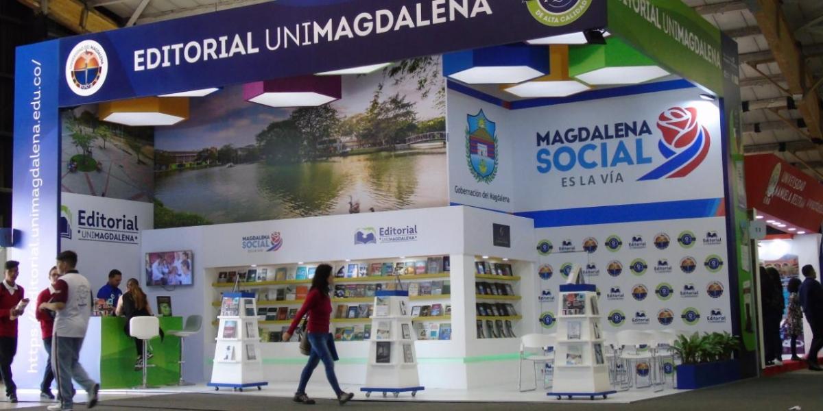 Por tercera vez, la Gobernación del Magdalena por intermedio de la Oficina de Cultura se hace presente en la Feria Internacional del Libro en Bogotá, en esta ocasión en alianza con la Universidad del Magdalena.