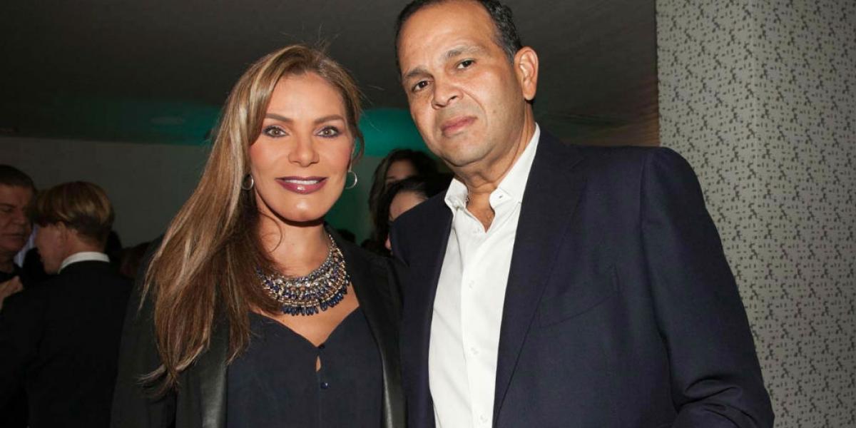 Maria Monica Urbina y José 'El Ñeñe' Hernández,