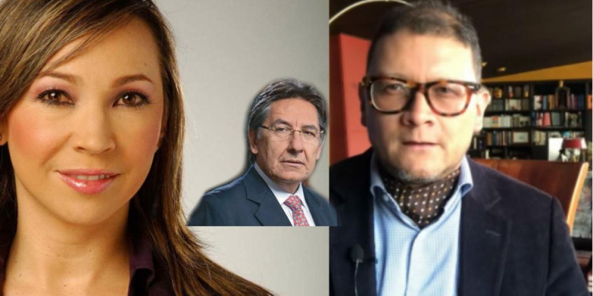 Periodista Darcy Quinn, Fiscal Néstor Humberto Martínez y docente Fabián Sanabria