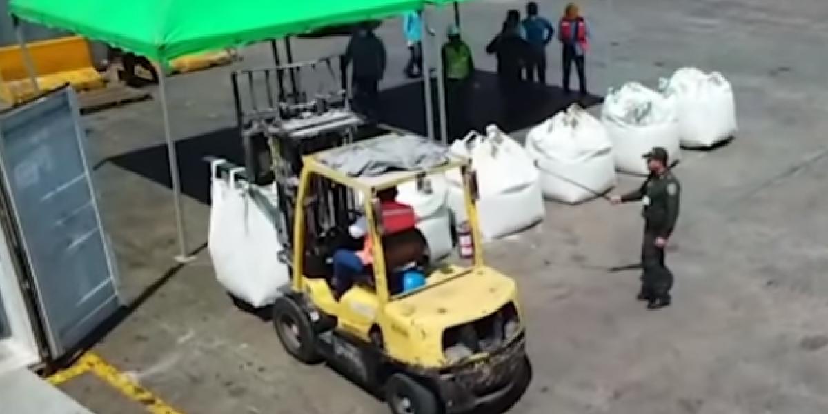 Autoridades evitan que droga saliera del puerto de Santa Marta con destino a Europa