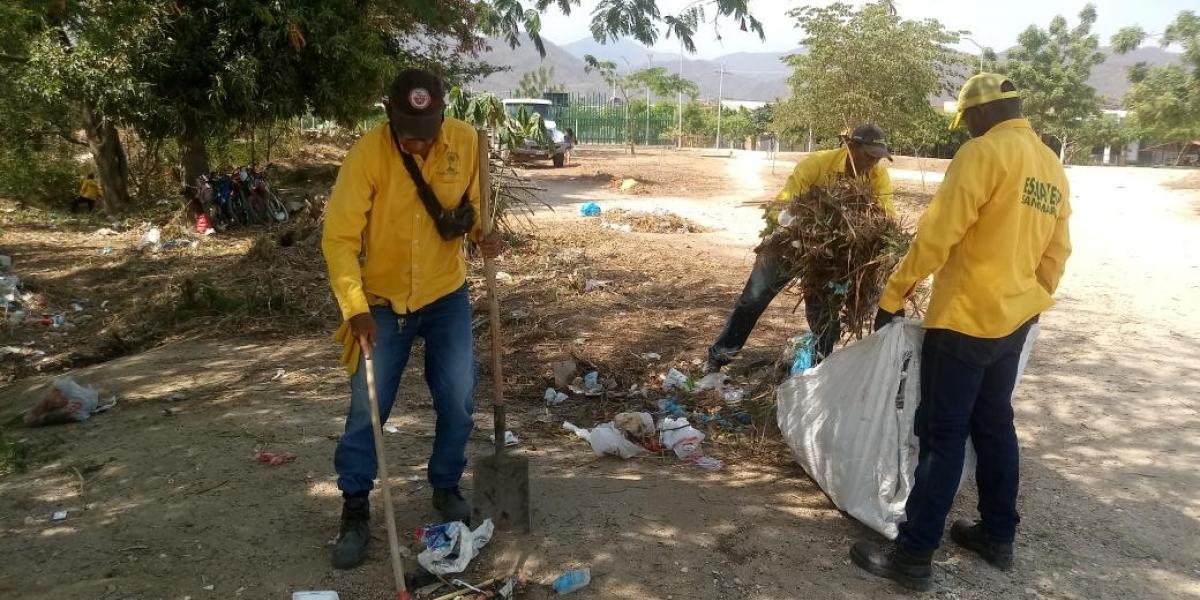 Jornadas de limpieza en Ciudad Equidad