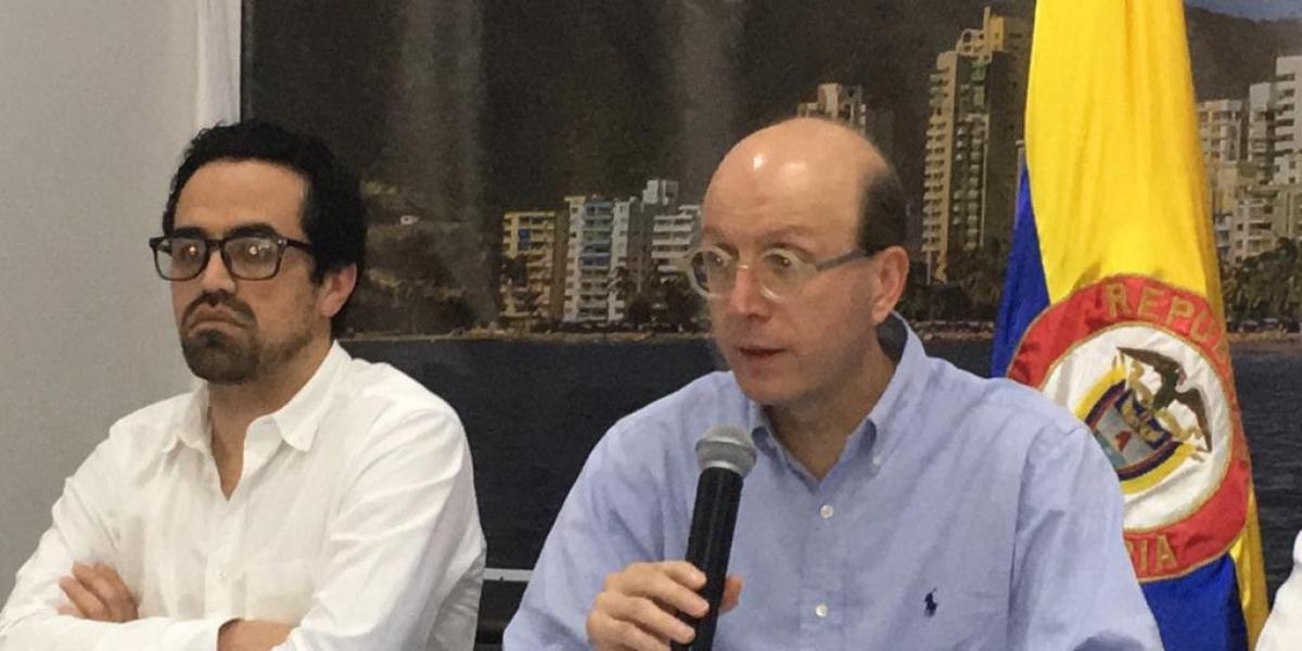 Andrés Rugeles, alcalde encargado de Santa Marta