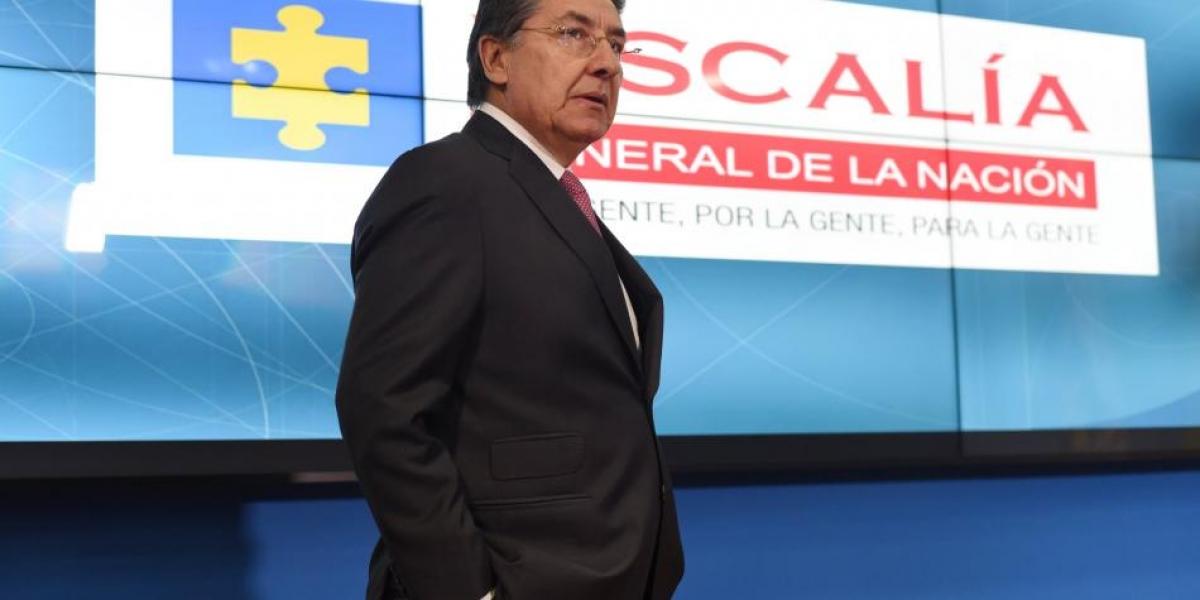 El fiscal General, Néstor Humberto Martínez, renunció a su cargo.