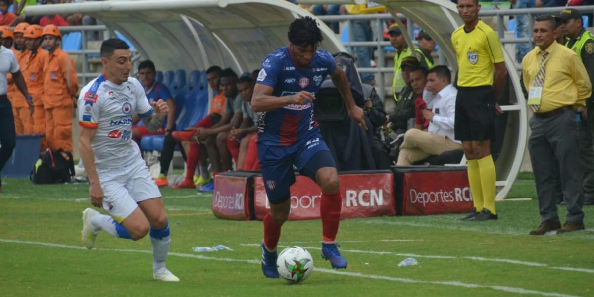 El Unión Magdalena juega en la noche de este miércoles.