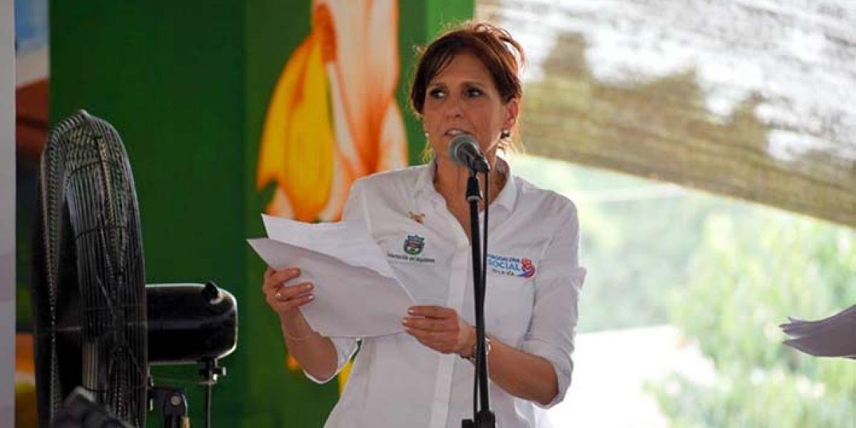 Para la gobernadora Rosa Cotes es fundamental la participación en este tipo de espacios que promueven los productos agroindustriales priorizados.