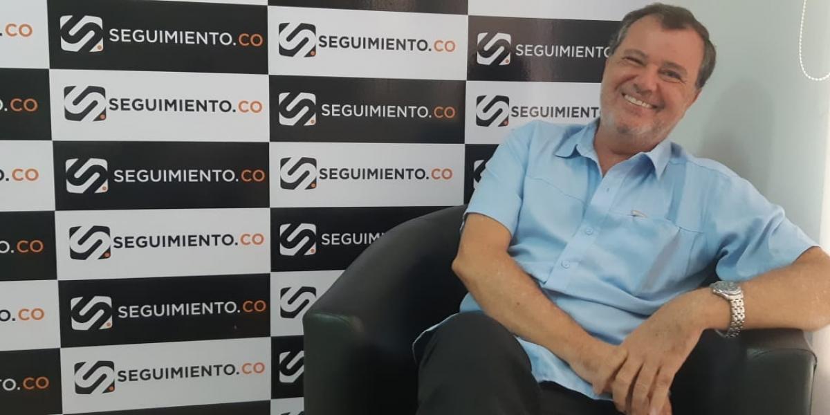 César Riascos Noguera, ex presidente de la Cámara de Comercio, anuncia su intención de aspirar a la Alcaldía de Santa Marta.