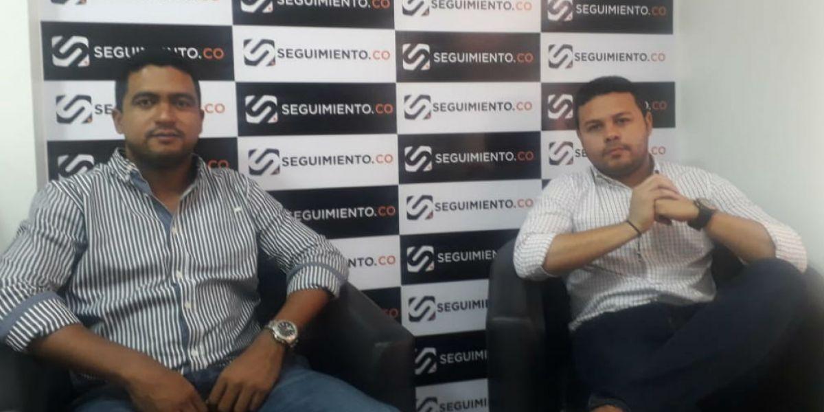 Raúl Pacheco y Andrés Correa.