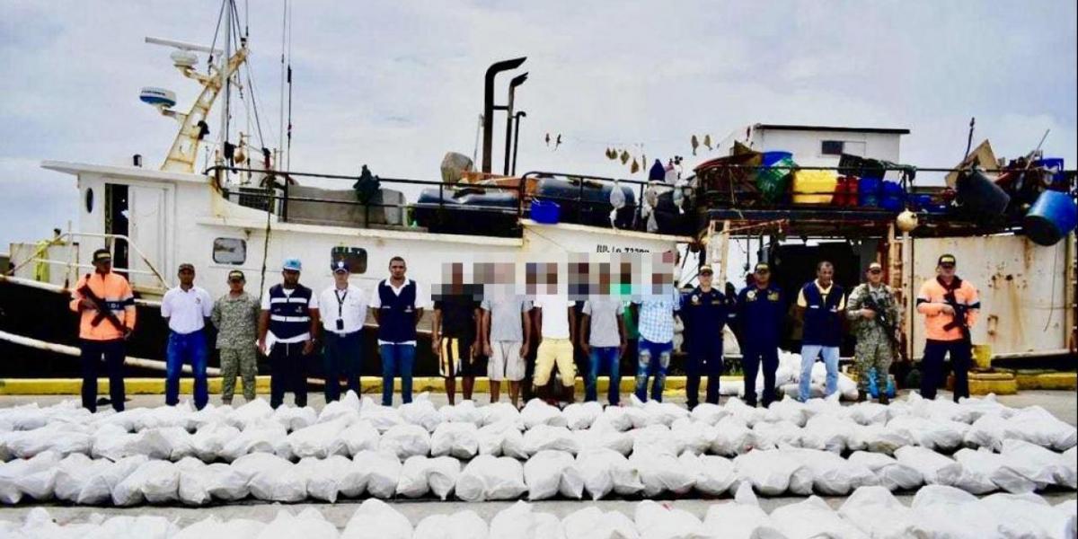 Tripulantes fueron conducidos a San Andrés.