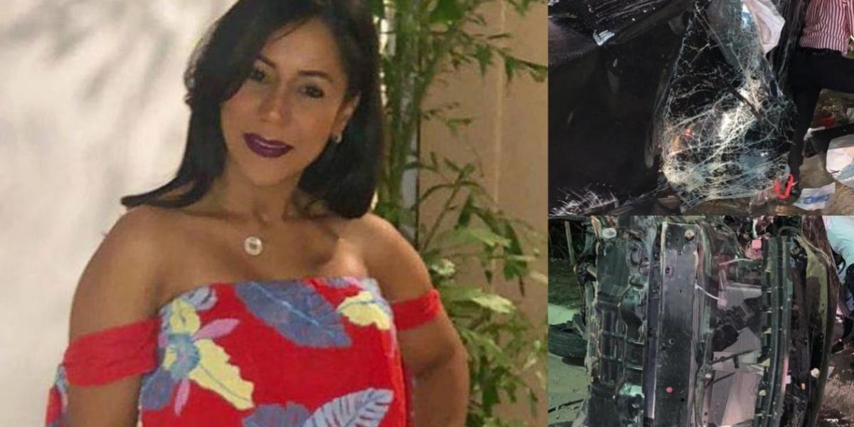 Tania María Guillot Deluque, docente de la Universidad de la Costa fallecida en un accidente de tránsito.