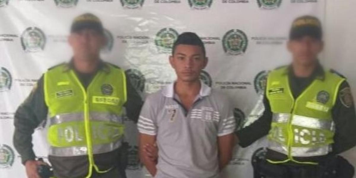 Wilfrido Dávila Solis, capturado en Ariguaní
