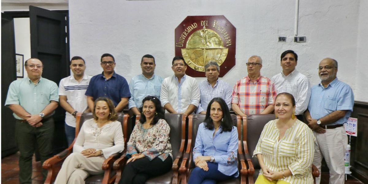Nuevos representantes en el Consejo Superior de Unimagdalena.
