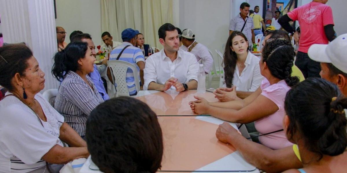 El Mello dijo en el Banco, Magdalena, que la construcción de la sede de la Unimag en el sur sí será posible.