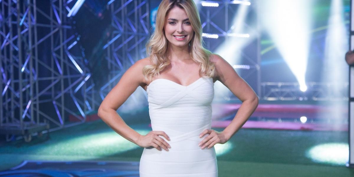 Cristina Hurtado, modelo y presentadora colombiana
