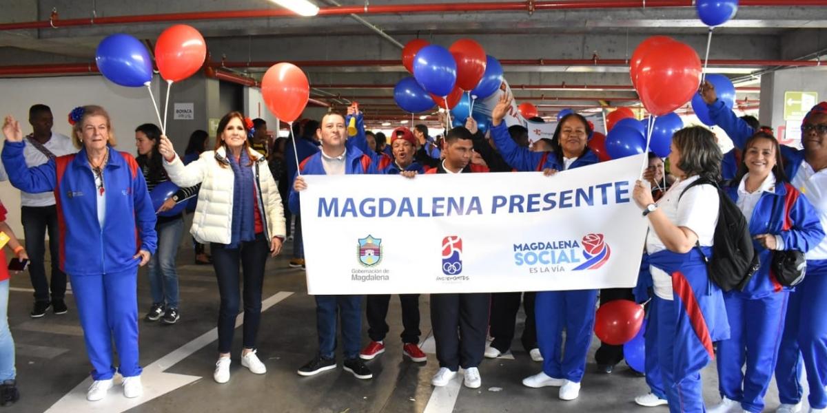20 deportistas llegaron a la capital para participar en la vigésimo tercera edición de las Olimpiadas Especiales Fides