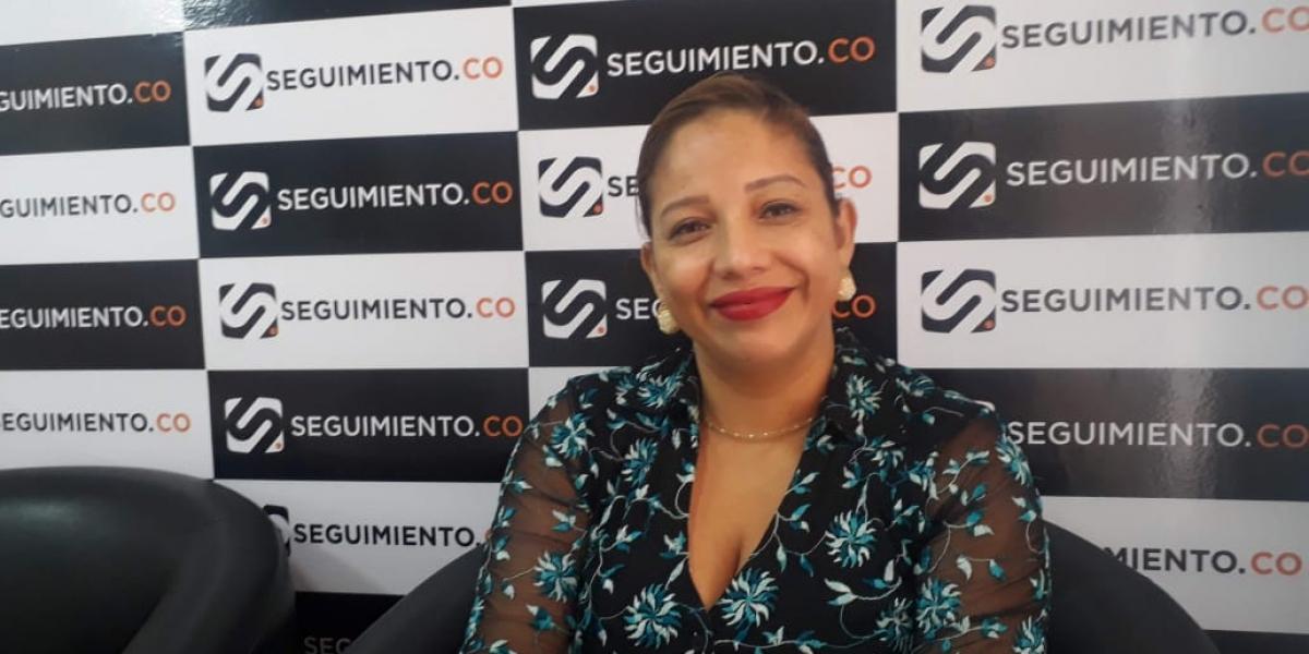 Norma Vera,secretaria del Interior del departamento del Magdalena