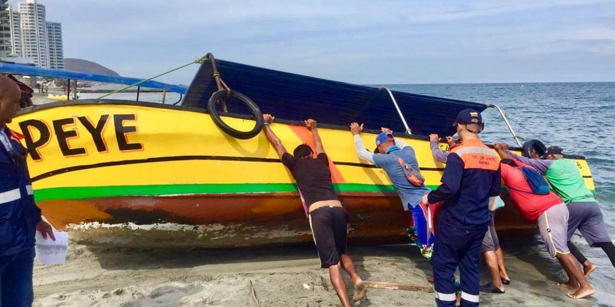 Dimar realiza operativos de control en las playas de la samaria