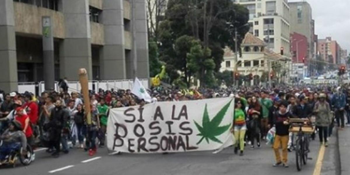 'Marcha Mundial por la Marihuana – Bogotá'