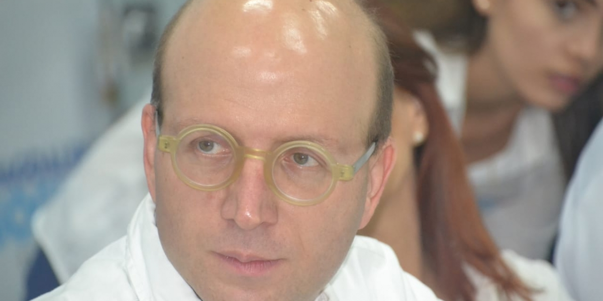 Andrés Rugeles es alcalde encargado de Santa Marta y secretario de Transparencia de la Presidencia.