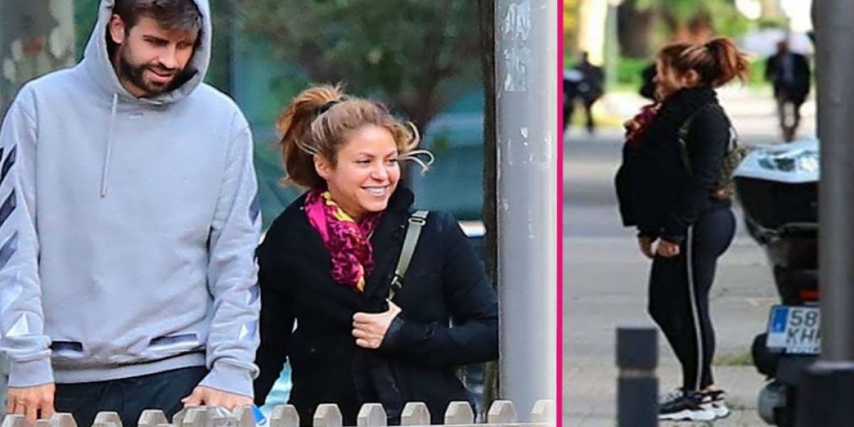 Shakira presume su torneada figura posando en bikini