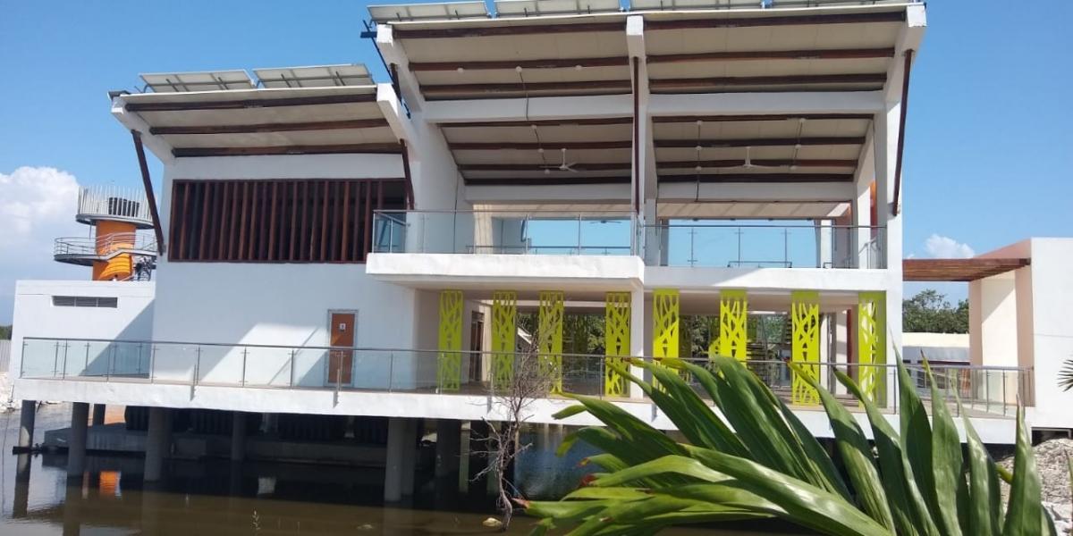 La obra incluye un parador en el municipio de Puebloviejo y un punto de embarque y desembarque en el corregimiento de Nueva Venecia, municipio Sitionuevo.