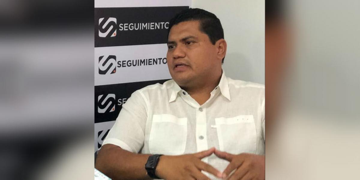 Gerente de Proyecto del Departamento del Magdalena, Fabio Manjarres