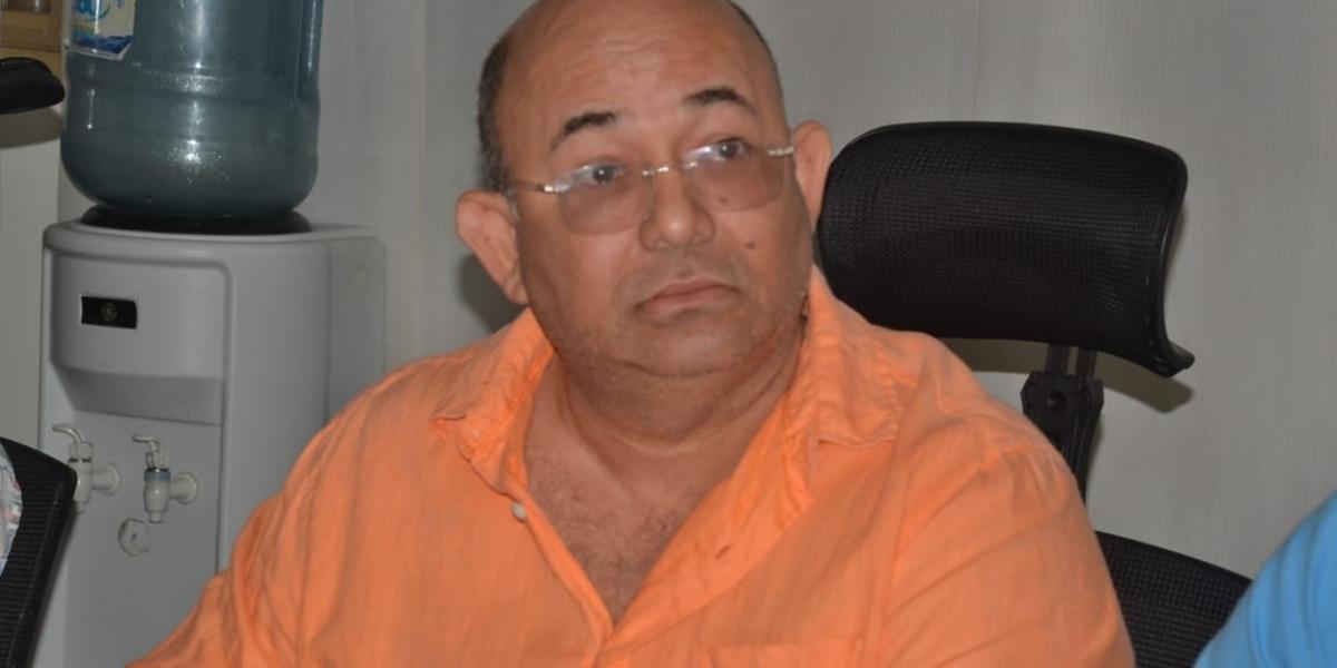 El concejal Juan Ruiz.