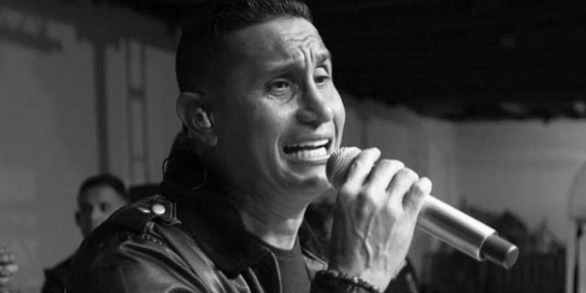 Hebert Vargas, exvocalista de los Gigantes del Vallenato